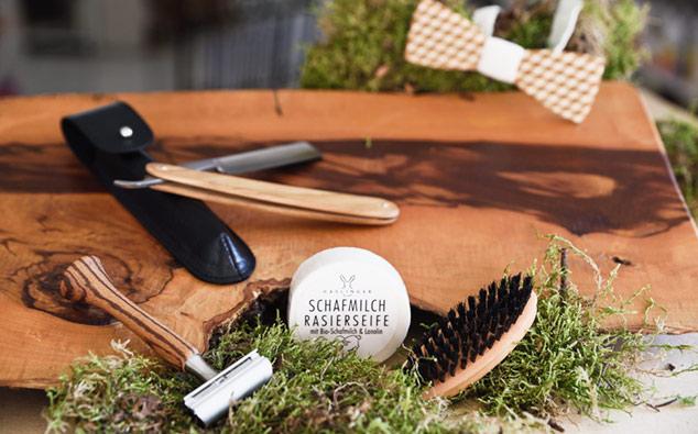 Rasierzubehör und Bartpflege