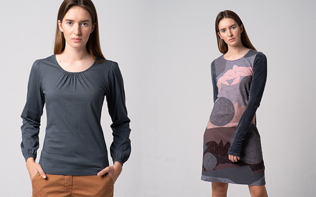 Kleidung von Alma und Lovis