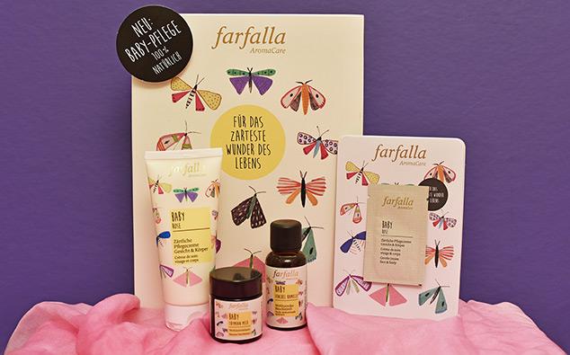 Farfalla Babypflege