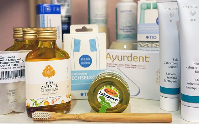 Zahnpflege Produkte